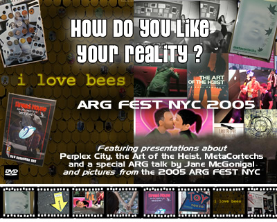 ARG Fest DVD cover from GreyLodge