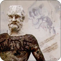 Abuse homepage - statue of Silenus