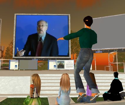 Henry at NMC in Second Life