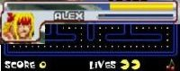 Hit points in Street Fighter vs lives in Pac Man